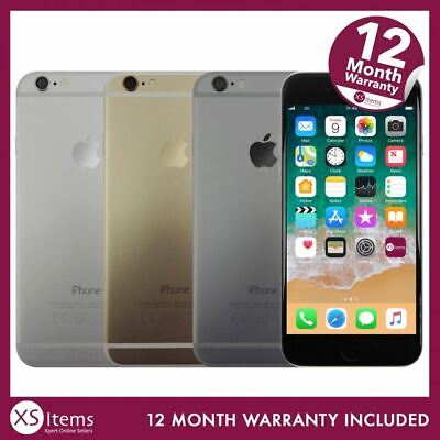Apple iPhone 6 A1586 16/64/128GB Space Grey/Gold/Silver Unlocked/EE/Vodafone