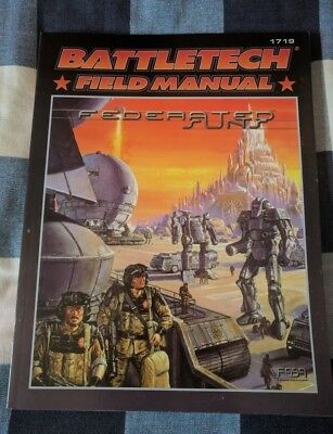 Classic Battletech Federated Suns - Field Manual (FASA - 1719) - Book