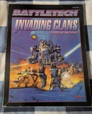 Battletech Invading Clans - Sourcebook (FASA - 1645) - Book