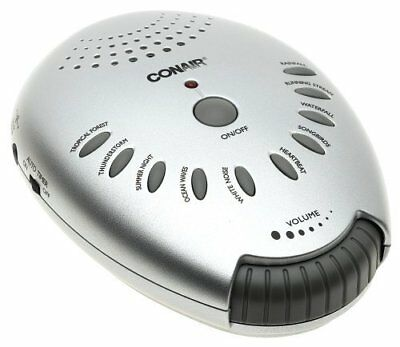Conair SU1W C Silver Sound Therapy Unit