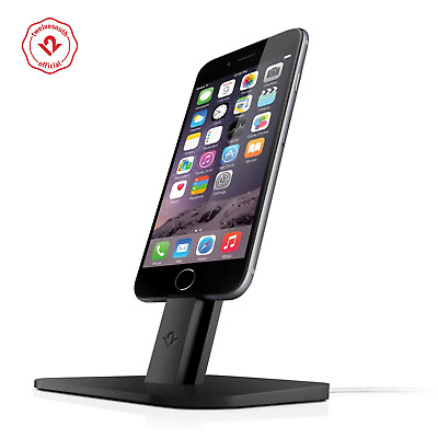 Twelve South HiRise for iPhone/ iPad Mini, Adjustable Charging Stand , Black