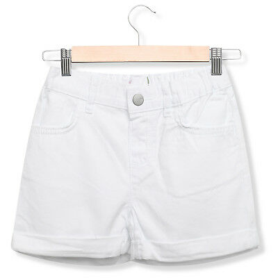 Girls Kids TCP Casual Summer Roll-Cuff White Denim Shorts Toddlers Childrens