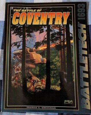 Classic Battletech - The Battle of Coventry - Scenario (FASA - 1693) - Book