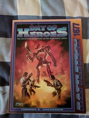 Classic Battletech - Day of Heroes - Scenario (FASA - 1677) - Book