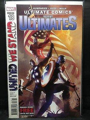 The Ultimates #18  Marvel Comic Book  Ultimate Comics  VF/NM  UNITED WE STAND