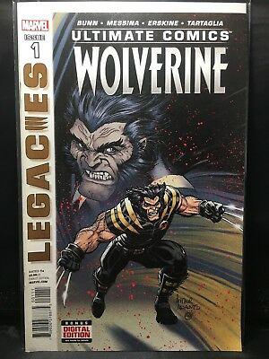 Ultimate Comics Wolverine #3  Marvel Comic Book  VF/NM  LEGACIES