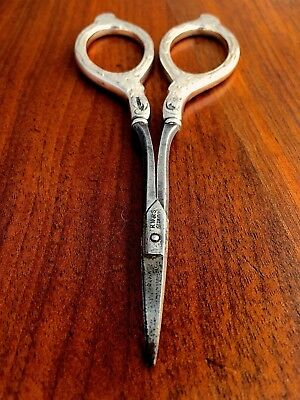R. Wallace & Sons Sterling Silver Handled Manicure or Sewing Scissors