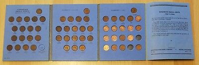 1922-1972 Canada Small Cent Set Includes a nice 1923 & 1925! No 1967 or 1971