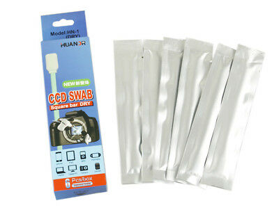 6 PCS Huanor Wet Sensor Cleaner Cleaning Kit CMOS CCD SWAB DSLR Camera UK STOCK