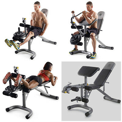Whole Body Workout Machine Home Exercise Bench Adjustable Fitness Gym Equipment