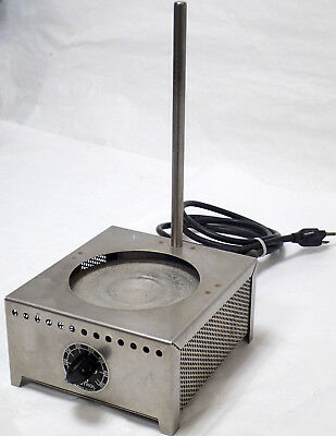 """Autrol Hot Plate With 10"""" Rod 0-500°F Tested!"""