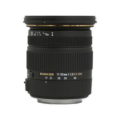 Sigma 17-50mm f/2.8 EX DC OS HSM Zoom Lens for Canon & Nikon HOLIDAY DEAL SALE!
