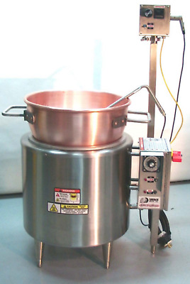 Savage Brothers Candy Cooker ElectroStove-20 with Copper Kettle & Digital Therm.