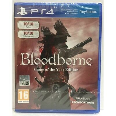 Bloodborne Game Of The Year Edition PS4 Game - Brand New & Sealed