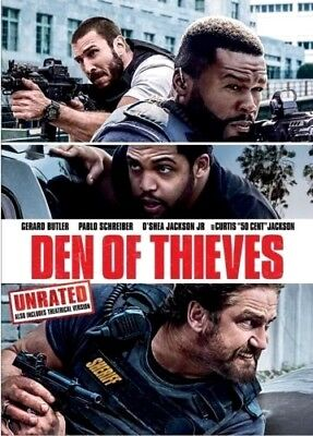 Den of Thieves (DVD 2018)NEW*  Crime * PRE-ORDER SHIPS ON 04/24/18