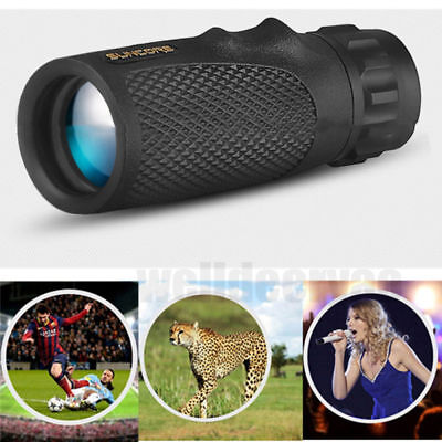 Compact Pocket Monocular Telescope 10x25 No Night Vision High Definition Scope