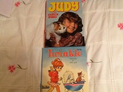 2 Vintage Annuals For Girls