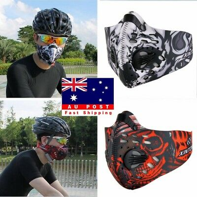 New Altitude Training Hypoxia Oxygen Controlled Mask Masochist With Filter AU