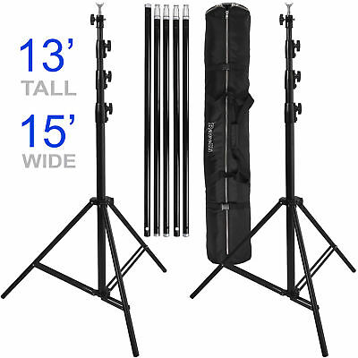 Ravelli Photo Video Backdrop Stand Muslin Background Support Studio 13 ft tall