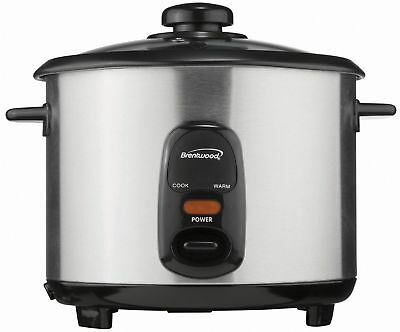 Brentwood Appliances, Inc. TS10ob Brentwood Ts10 5 Cup Rice Cooker [stainless