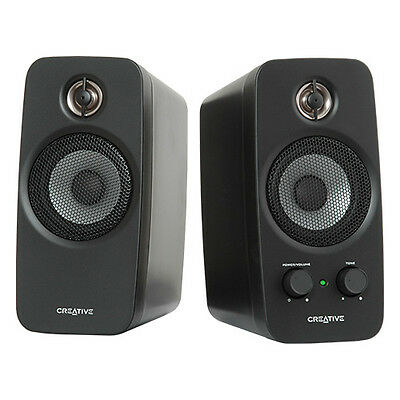 Creative Labs 51mf1601aa000 Creative Inspire T10 Multimedia Speaker System, 2.0
