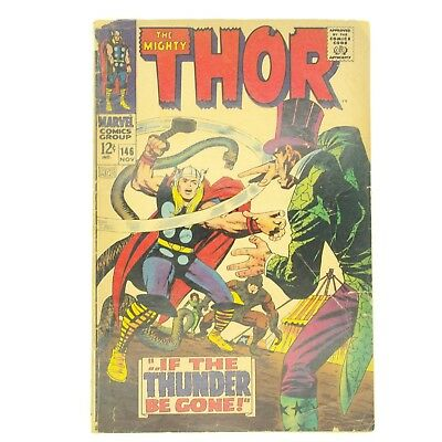 The Mighty Thor #146 (1967, Marvel) Origin of the Inhumans - Silver Age