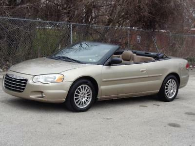 2004 Chrysler Sebring TOURING CONVERTIBLE LOADED! 2ND-OWNER! 79K Mls! NO RESERVE LEATHER HEATED SEATS CD-CHANGER KEYLESS ENTRY RUNS DRIVES GREAT