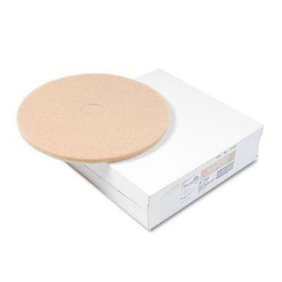 "Premier 4020ULT Ultra High-speed Floor Pads, Ultra Champagne, 20"" Dia, 5/carton"
