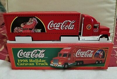1998 Coca Cola Lighted Holiday Caravan Truck (NIB)