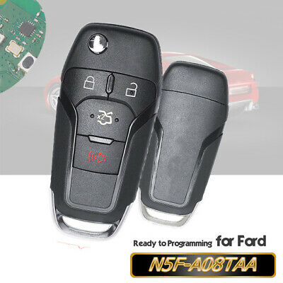 Folding Remote Key Fob 315MHz for Ford Fusion 2013 2014 2015 2016 N5F-A08TAA
