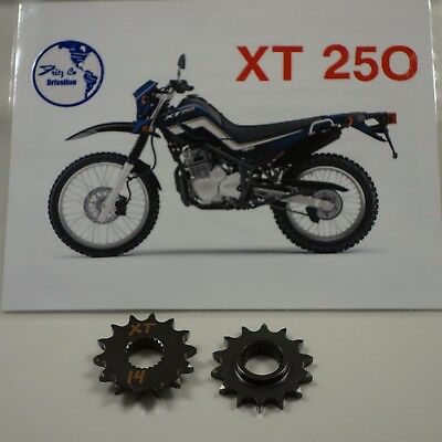 Yamaha XT 250 FRONT SPROCKET 14 tooth, 2009 to 2018