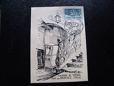 FRANCE - card 1st day 14/3/1964 (day du timbre) (cy92) french