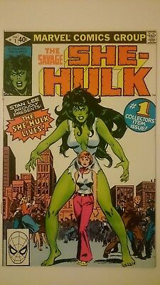 The Savage She-Hulk # 1  -Nm  Origin Issue  Cents  1980