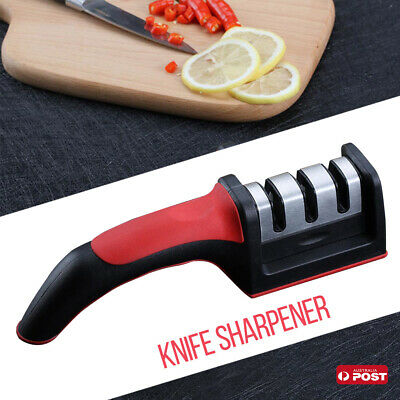Knife Sharpener 3 Stage Sharpener Sharp Diamond For Kitchen Knives Scissors Tool