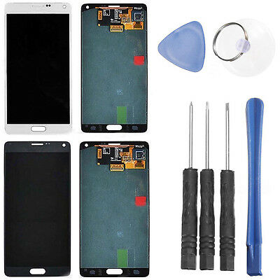 Touchscreen LCD Display Digitizer +Werkzeug für Samsung Galaxy Note 4 N910C/A/F