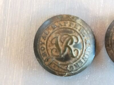 Royal Sapper & Miner Button