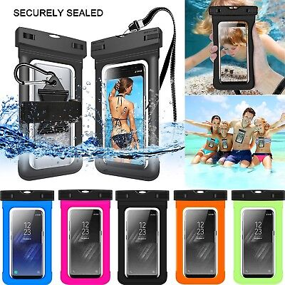 low priced 53ad8 17c3c FOR SAMSUNG GALAXY J7 Crown/Star/J3 Achieve/Orbit Waterproof Pouch Dry Bag  Case