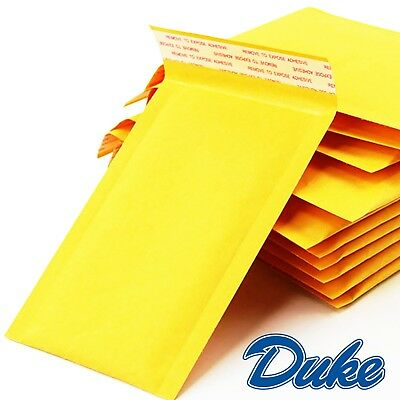 5- 100 Pcs Small Gold Padded MAIL Yellow Postage Bag Bubble Lined Envelopes