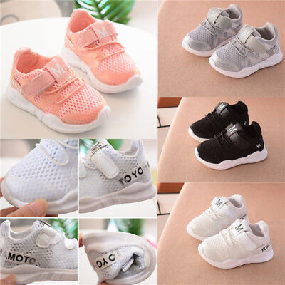 Baby Kids Girls Boys Toddler Child Infant Casual Sport Running Trainers Shoes UK