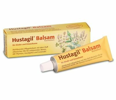 Hustagil Balm 30ml. Soft Acting Product to Relieve Breathing with Natural Oils