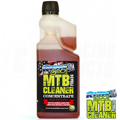 Concentrated Dual Purpose Bike and Chain Cleaner degreaser by MTB Rhino Goo