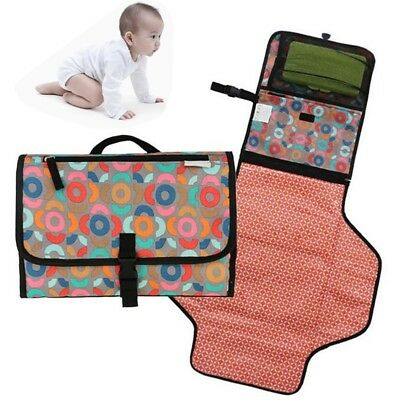 Portable Foldable Diaper Nappy Baby Change Pad Mat Diapers Changing Table New