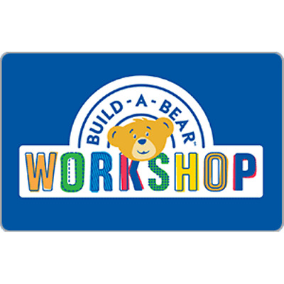 Build A Bear Gift Card $50 Value, Only $42.00! Free Shipping!