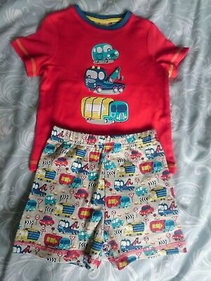Boys red Mini Club Short PJ's 18-24months - Vehicles - New without tags