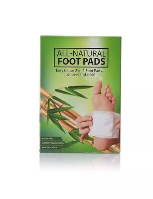 Premium 2-in-1 Aromatic Foot Pads For Relaxation & Sleep  All Natural 10 pack