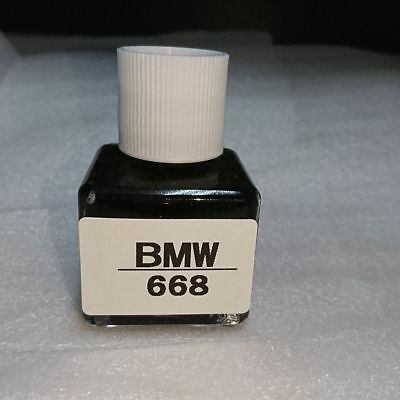 FOR BMW Touch Up Paint Color Code # 668 Jet Black