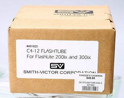 Smith Victor C4-12 Flash Tube For Flashlite 200Ix 300Ix