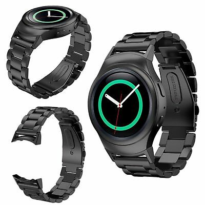 Metal Stainless Steel Link Band Strap for Samsung Gear S2 SM-720 Smart Watch UK