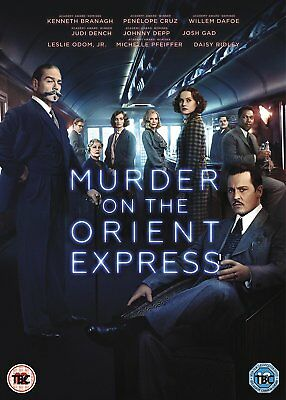 Murder On The Orient Express DVD. New and sealed. Free postage.