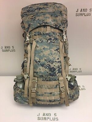 Complete USMC Marpat rucksack backpack Gen 2 ILBE Main Pack GOOD